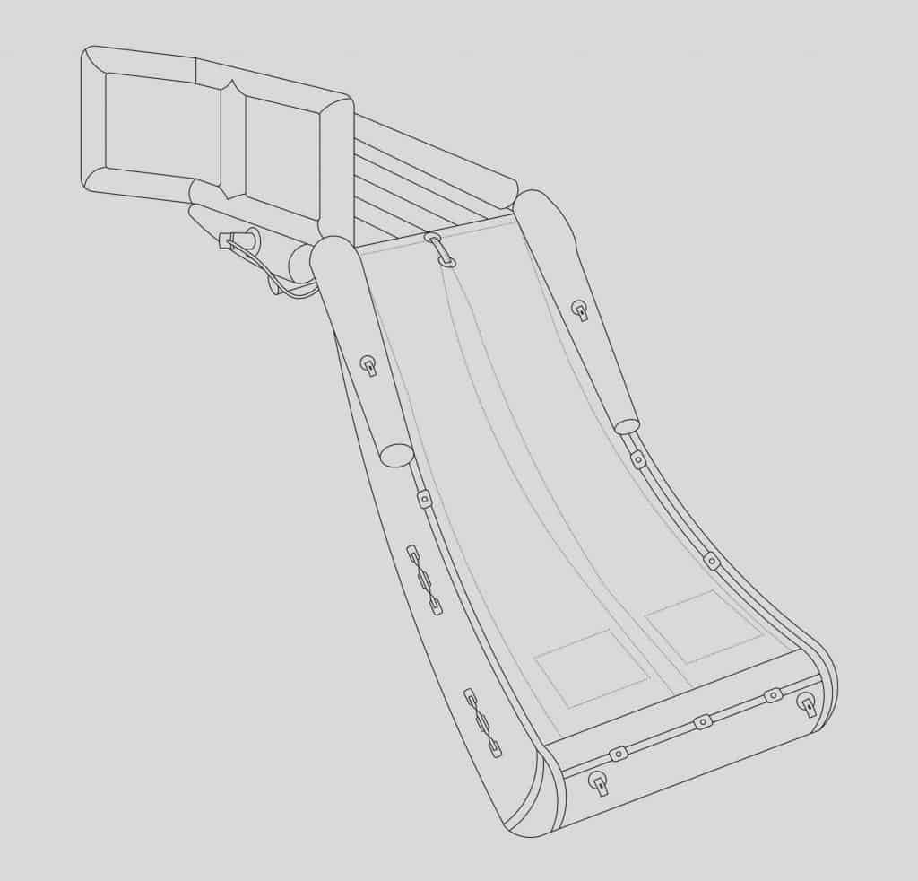 safety slide drawing